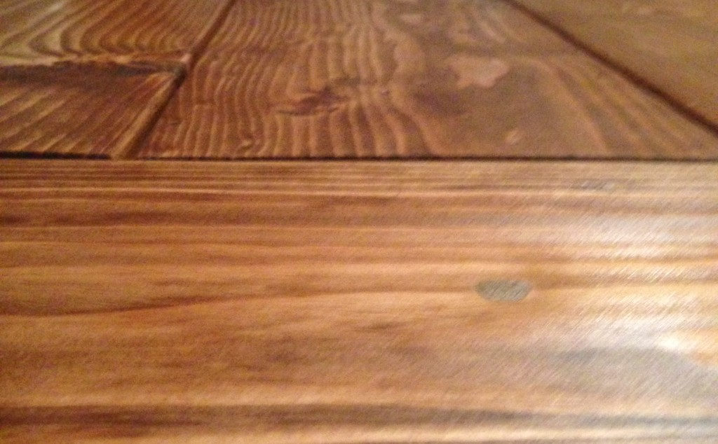 table closeup